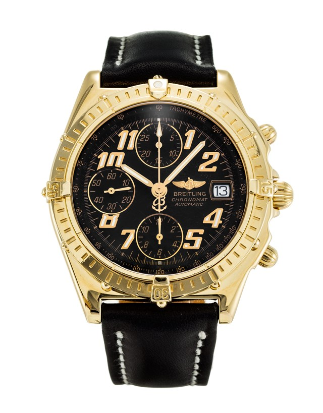 Breitling Chronomat Black Dial Fake Watches