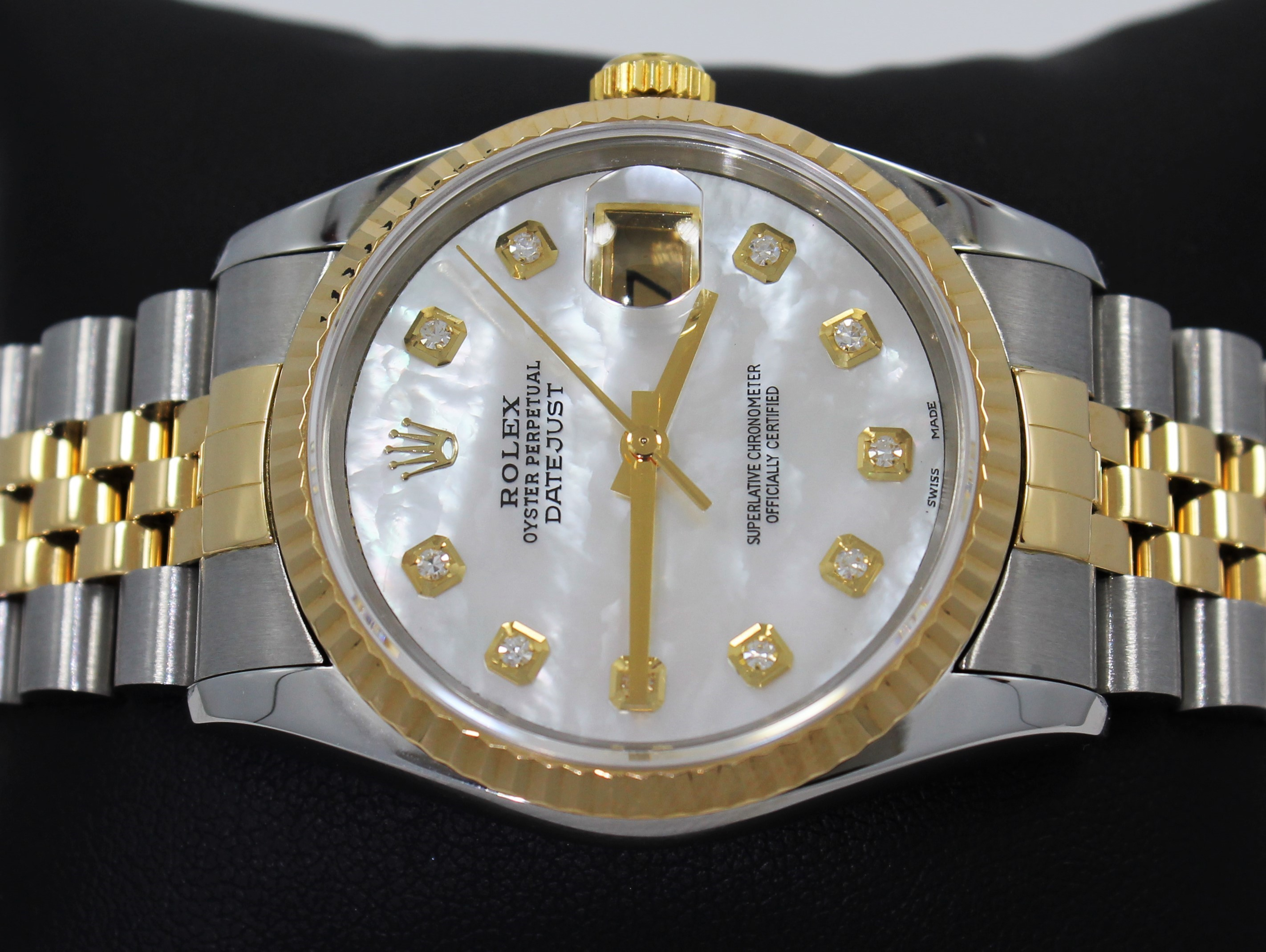 Best Fake Rolex Datejust White Dial 36MM Watches 1