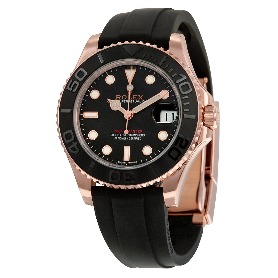 Rolex Yacht-Master Black Dial Copy Watches