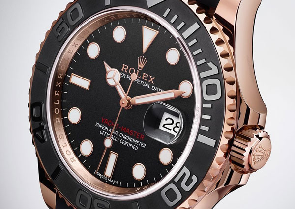 Rolex Yacht-Master 40 Copy Watches With Matt Black Bezels