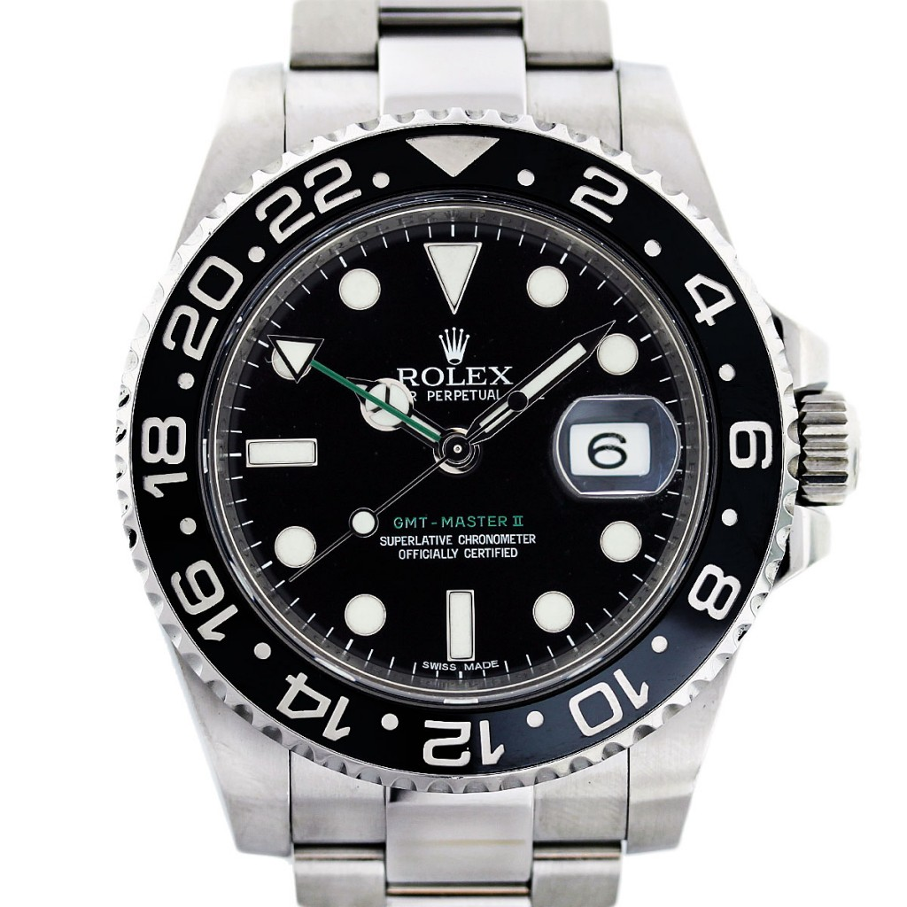 Steel Cases Fake Rolex GMT-Master II Watches