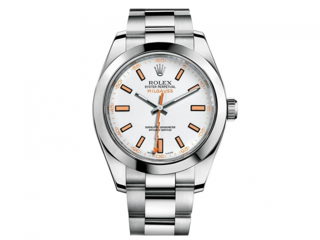 Rolex Milgauss Fake Watches With Steel Bracelets