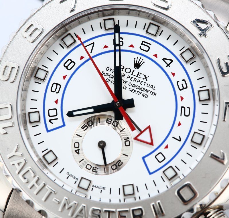 White Dials Copy Rolex Yacht-Master II Watches