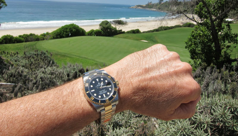 White Hour Indexes Rolex Submariner Replica Watches_
