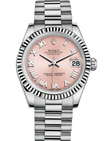 Rolex Lady Datejust 178279 Replica Watches With Pink Dials
