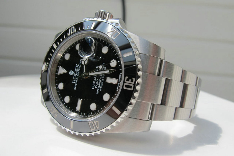 Rolex Submariner Datejust Replica 116610LN Watches With Black Dials