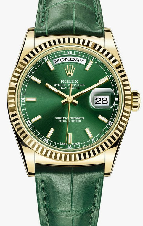 Rolex Day-Date Replica Watches With Green Dials