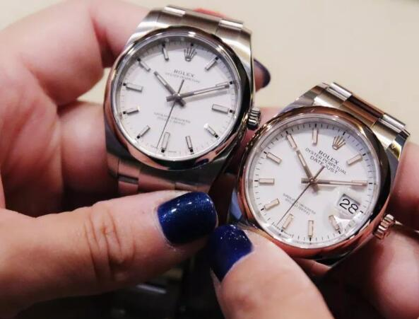 Datejust and Oyster Perpetual watches are with elegant and understated appearance.