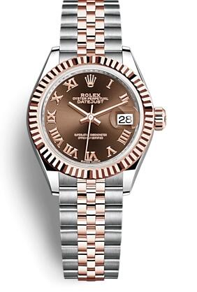 The 28 mm Datejust will decorate the women wearers more elegant.